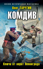 Обложка: Комдив. Ключи от ворот Ленинграда