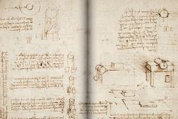 Оцифрованная рукопись Леонардо да Винчи появилась в свободном доступе
