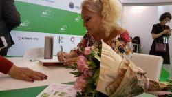 Юлия Шилова представила на ММКВЯ книгу о любви к заключенному