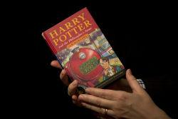 """Первое издание """"Гарри Поттера"""" продали за рекордную сумму"""